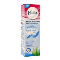 Veet Krem do depilacji skóry Silk & Fresh - skóra wrażliwa  100ml