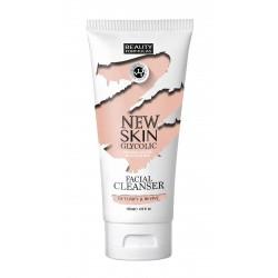 Beauty Formulas New Skin Glycolic Mleczko do demakijażu z kwasem glikolowym 150ml