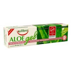Equilibra Aloe Gel Pasta do zębów Sensitive 30% aloesu  75ml