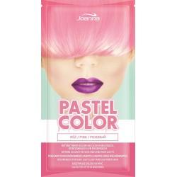 Joanna Pastel Color Szampon koloryzujący w saszetce Róż  35g
