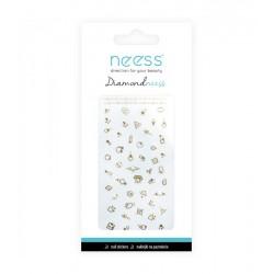 NEESS Naklejka na paznokcie Diamondneess (3711)  1szt