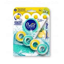 Brait Kostka toaletowa 2-fazowa do WC Lemon Rings  40g