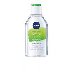 Nivea Urban Skin Detoks Płyn micelarny 3w1  400ml