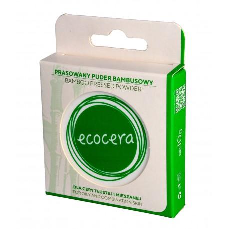ECOCERA Puder prasowany Bambusowy - cera tłusta i mieszana 10g