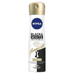 Nivea Dezodorant INVISIBLE SILKY SMOOTH spray damski  150ml