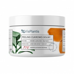 Vis Plantis Herbal Vital Care Peeling cukrowo-solny do ciała Yerba Mate + Olej Monoi  200ml