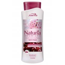 Joanna Naturia Family Płyn do kąpieli Kwiat Wiśni relaksujący  750ml