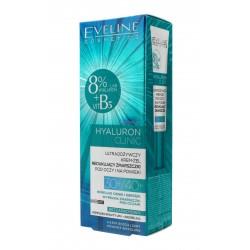 Eveline Hyaluron Clinic 30+/40+ Ultraodżywczy Krem-Żel pod oczy redukujący zmarszczki  20ml