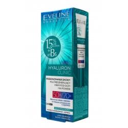 Eveline Hyaluron Clinic 50+/70+ Przeciwzmarszczkowy multiregenerujący Krem pod oczy  20ml