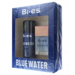 Bi-es Blue Water for Man Komplet (woda toaletowa 100ml+dezodorant spray 150ml)