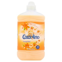 Coccolino Płyn do płukania tkanin Orange Rush  1800ml (72 prania)