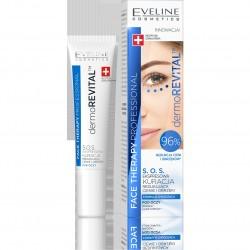 Eveline Face Therapy Professional Kuracja S.O.S.redukująca cienie i obrzęki pod oczami Dermo revital  15ml