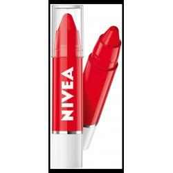 Nivea Lip Care & Color Balsam ochronny do ust w kredce Poppy Red  3g