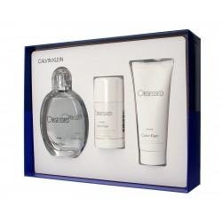 Calvin Klein Obsessed for Men Zestaw prezentowy (woda toaletowa 125ml + żel pod prysznic 100ml+deo sztyft 75ml)