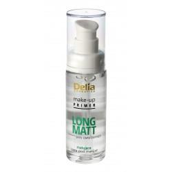 Delia Cosmetics Skin Care Defined Baza pod makijaż Long Matt matująca 30ml