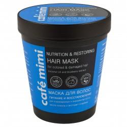 Cafe Mimi Kubeczek Maska do włosów odbudowująca -włosy farbowane i zniszczone  220ml