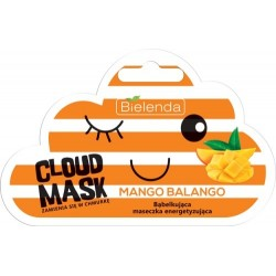 Bielenda Cloud Mask Bąbelkująca Maseczka energizująca Mango Balango  6g