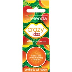 Bielenda Crazy Kiss Peeling do ust Mango  15g