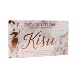 Makeup Revolution Kisu Palette Zestaw cieni i rozświetlaczy  1szt