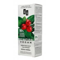 AA Bio Natural Vegan Krem pod oczy i na powieki Dzika Róża  15ml