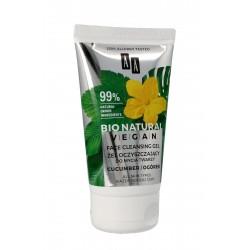 AA Bio Natural Vegan Żel oczyszczający do twarzy ogórek  150ml