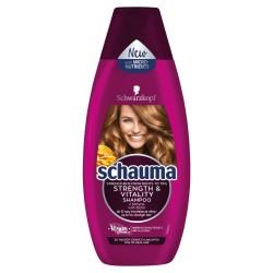 Schwarzkopf Schauma Szampon do włosów Strength & Vitality - włosy cienkie i łamliwe   400ml