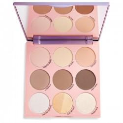 Makeup Revolution Imogenation Paleta do konturowania twarzy Highlight To The Moon  1szt