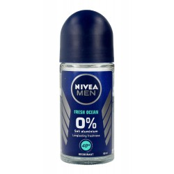 Nivea Dezodorant FRESH OCEAN roll-on męski 50ml