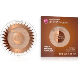 Bell Hypoallergenic Puder brązujący Fresh Bronze nr 01  1szt