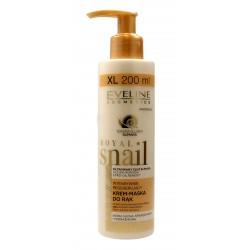 Eveline Royal Snail Krem-maska do rąk intensywnie regenerujący  200ml pompka