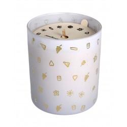 YOPE Świeca zapachowa 100% naturalny wosk sojowy - Figa  200g