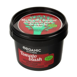 """Organic Kitchen Maska do twarzy tonizująca """"Pomidorowy Rumieniec""""  100ml"""