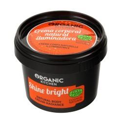 """Organic Kitchen Krem do ciała rozświetlający """"Świeć jasno""""  100ml"""