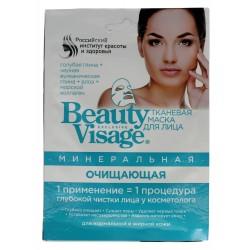 Fitocosmetics Beauty Visage Maseczka na tkaninie Mineralna  25ml