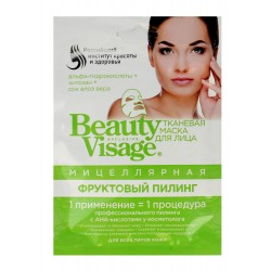 Fitocosmetics Beauty Visage Maseczka na tkaninie micelarna  25ml