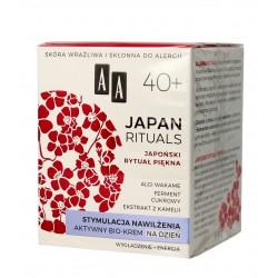 AA Japan Rituals 40+ Aktywny Bio-Krem na dzień - stymulacja nawilżenia  50ml
