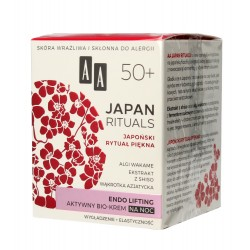 AA Japan Rituals 50+ Aktywny Bio-Krem na noc - endo lifting  50ml