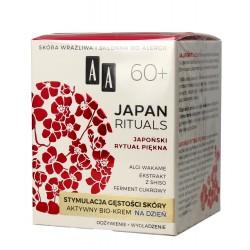 AA Japan Rituals 60+ Aktywny Bio-Krem na dzień - stymulacja gęstości skóry  50ml