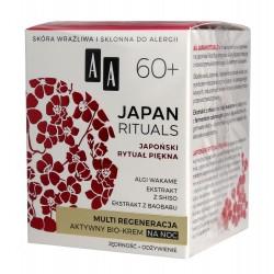 AA Japan Rituals 60+ Aktywny Bio-Krem na noc - multi regeneracja  50ml