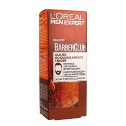 Loreal Men Expert Barber Club Olejek do długiej brody i skóry  30ml