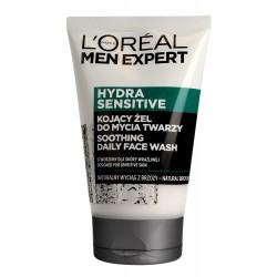 Loreal Men Expert Hydra Sensitive Kojący Żel do mycia twarzy - skóra wrażliwa  100ml