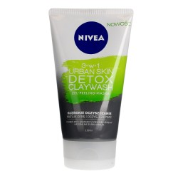 Nivea Urban Skin Detoks Żel-Peeling-Maska 3w1 do twarzy  150ml