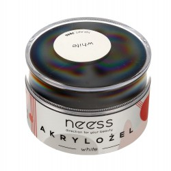 NEESS Akrylożel do paznokci White (7896)  15g