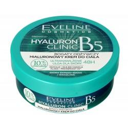 Eveline Hyaluron Clinic B5 Krem do ciała Hialuronowy odżywczy  200ml