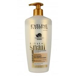 Eveline Royal Snail Olejkowy Balsam do ciała intensywnie regenerujący 3w1  350ml