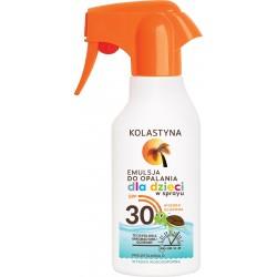 Kolastyna Opalanie Emulsja do opalania dla dzieci SPF30 spray  200ml