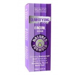 Beauty Formulas Natures Formulas Peeling do twarzy oczyszczający  150ml