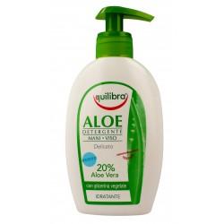 Equilibra Aloe Żel oczyszczający do twarzy i rąk  300ml
