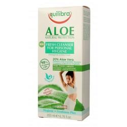 Equilibra Aloe Natural Protection Żel do higieny intymnej odświeżający  200ml