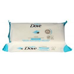 Dove Baby Chusteczki pielęgnacyjne dla dzieci  1op.-50szt